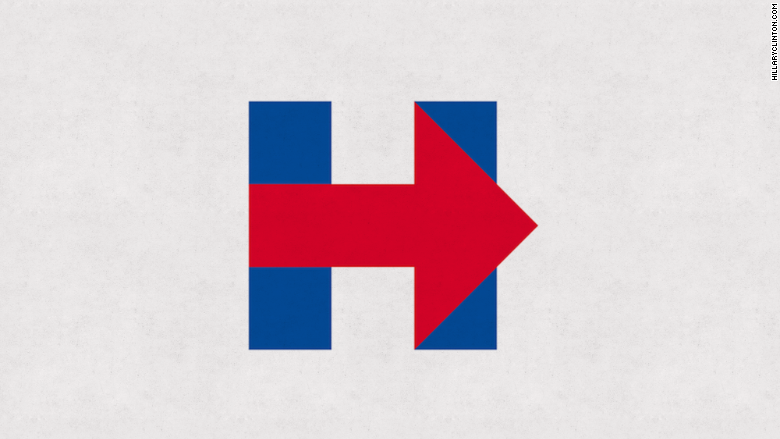 why everybody s talking about hillary clinton s new logo