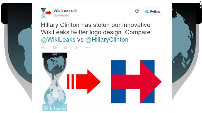 wikileaks clinton logo