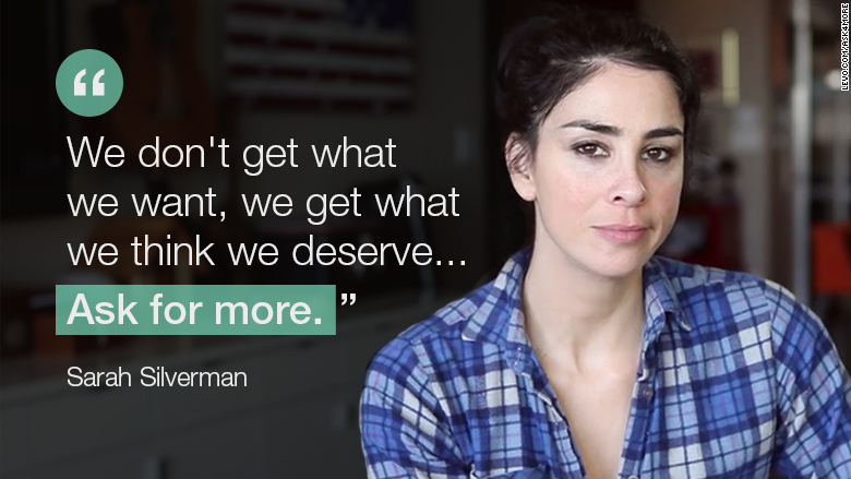 equal pay sarah silverman quote
