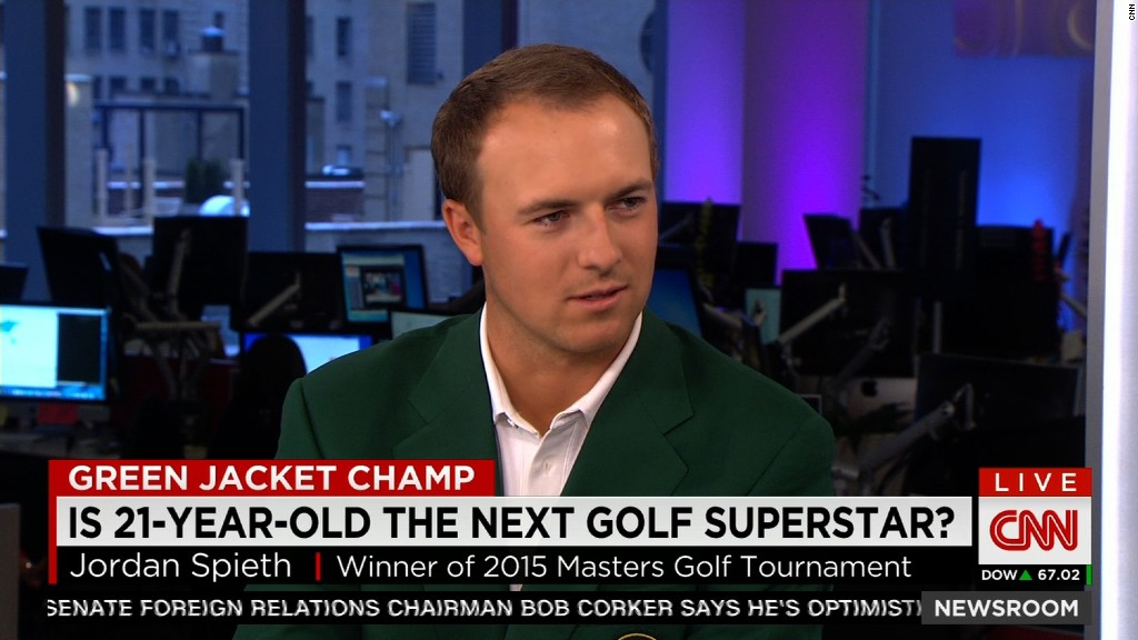 Golf star Jordan Spieth's favorite things