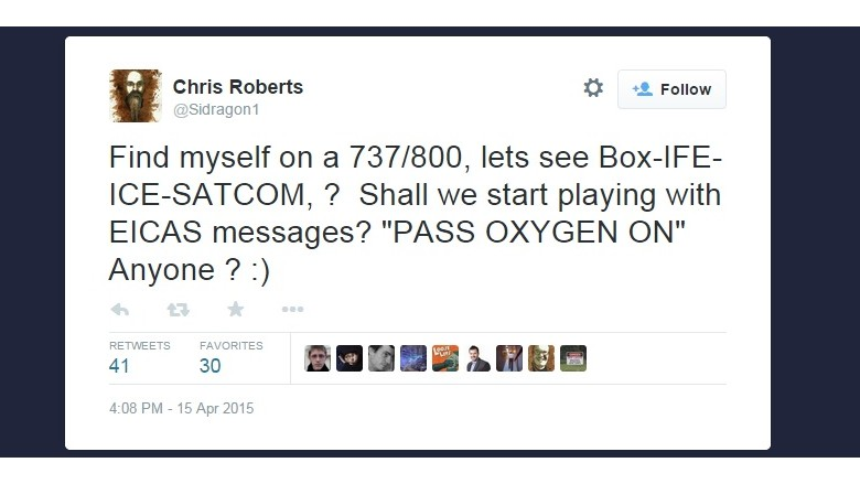 chris roberts tweet