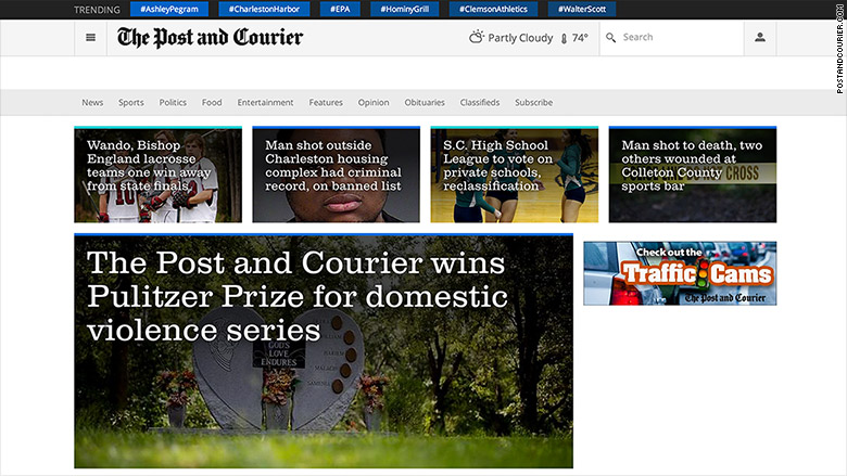 post and courier pulitzer