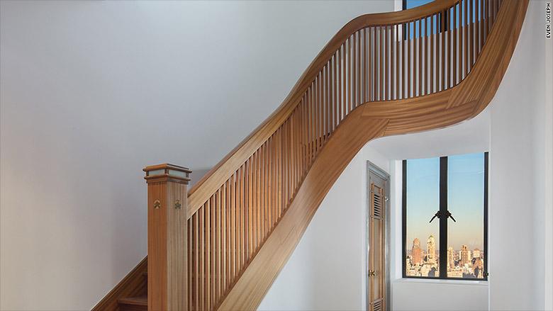 san remo penthouse staircase