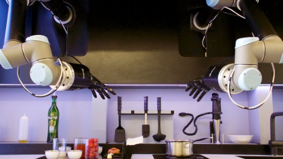 Robo chef: Would you trust a cook with no taste buds?