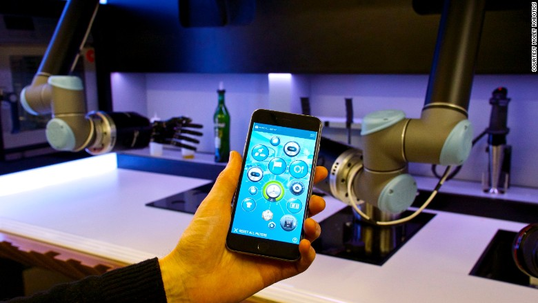 robot chef app