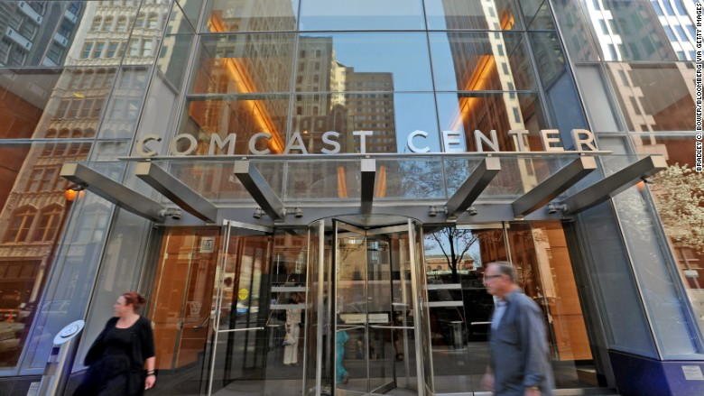 comcast center building