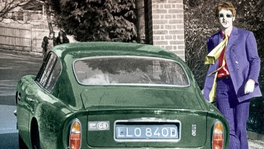 McCartney wrote 'Hey Jude' in this car