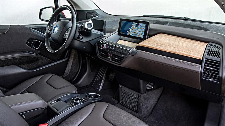 Bmw I3 10 Best Car Interiors Cnnmoney