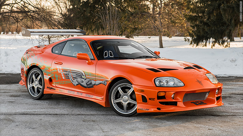 Car Paul Walker Drove In First Fast Amp Furious Movie To Be