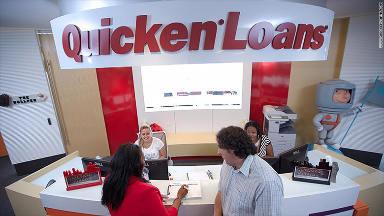 quicken loans front desk