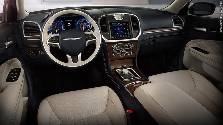 Chrysler 300 10 Best Car Interiors Cnnmoney
