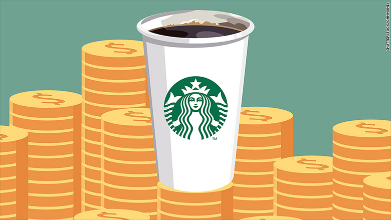 starbucks gold stock