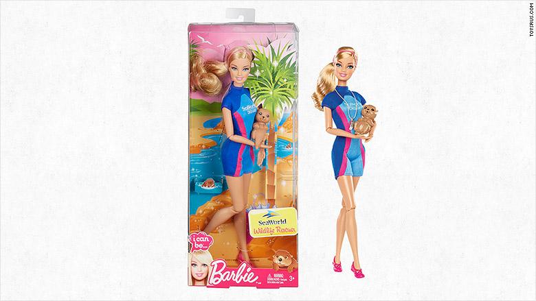 Mattel Drops Seaworld Trainer Barbie