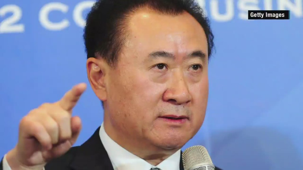 Wang Jianlin in 84 Seconds
