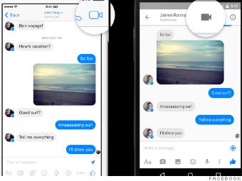 Facebook Messenger now lets you make video calls