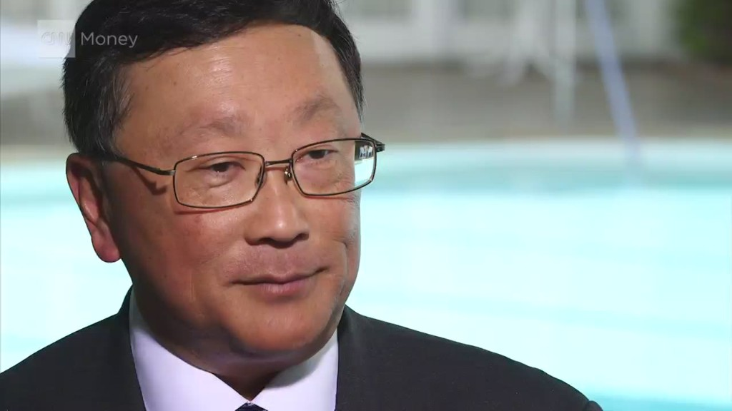 BlackBerry's CEO open to working with Apple