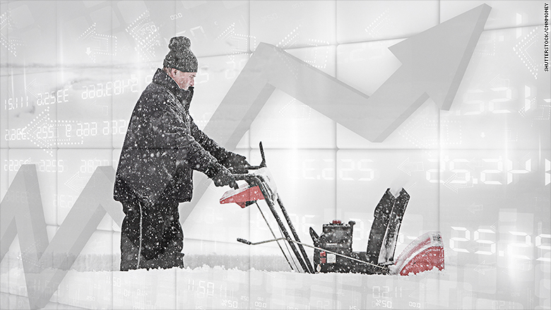 us economy gdp snow