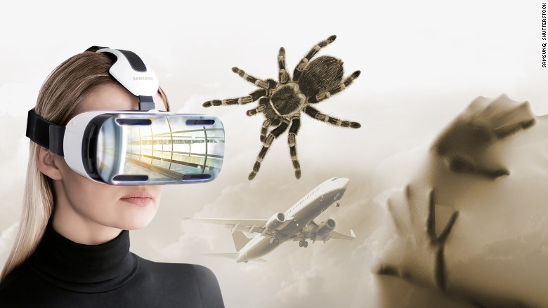virtual reality phobias