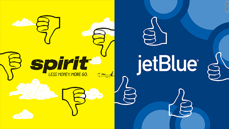 jetblue vs spirit