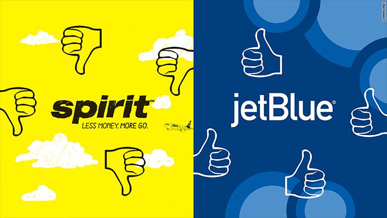 jetblue vs spirit