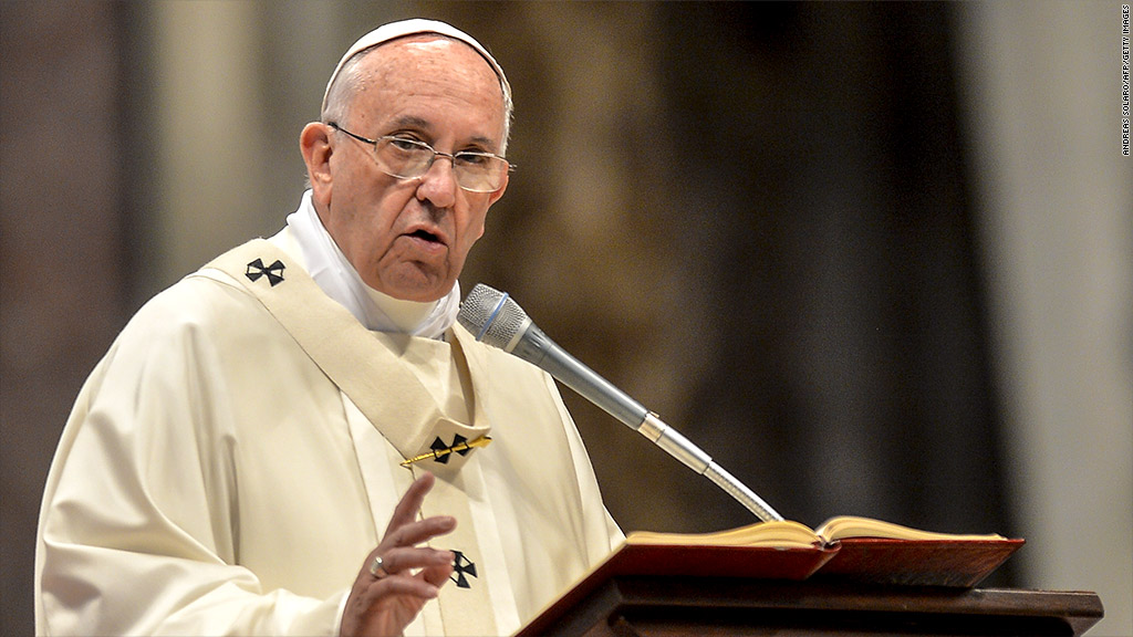 Pope Francis: Climate change a 'tragedy'