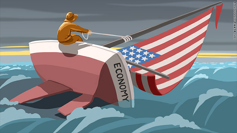 rough economic seas