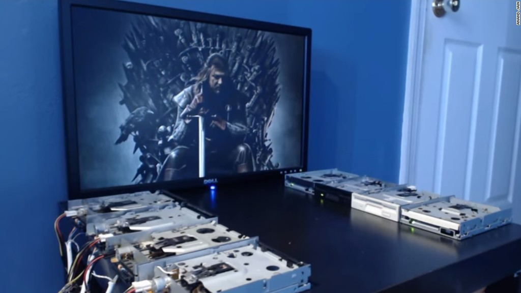 The 'Game of Thrones' theme goes old school