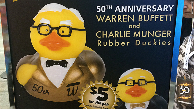 berkshire hathaway rubber ducks