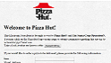 old website pizza hut