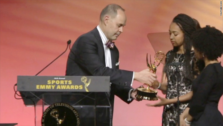 ernie johnson emmy awards