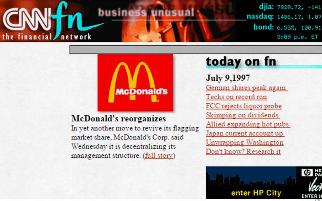 old websites cnnfn
