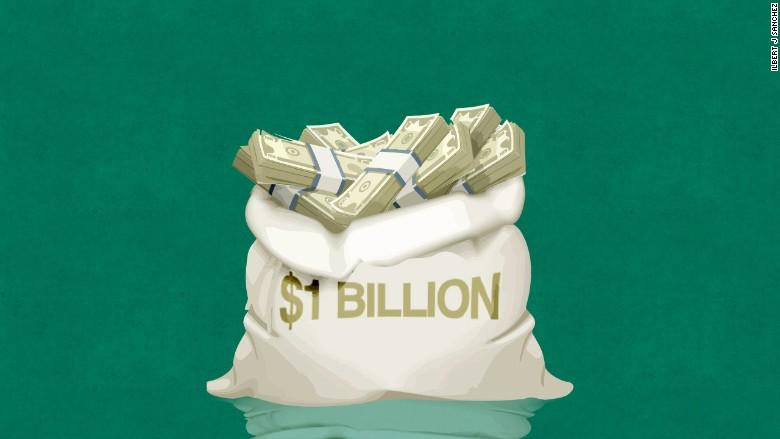 1 Billion Money Bag