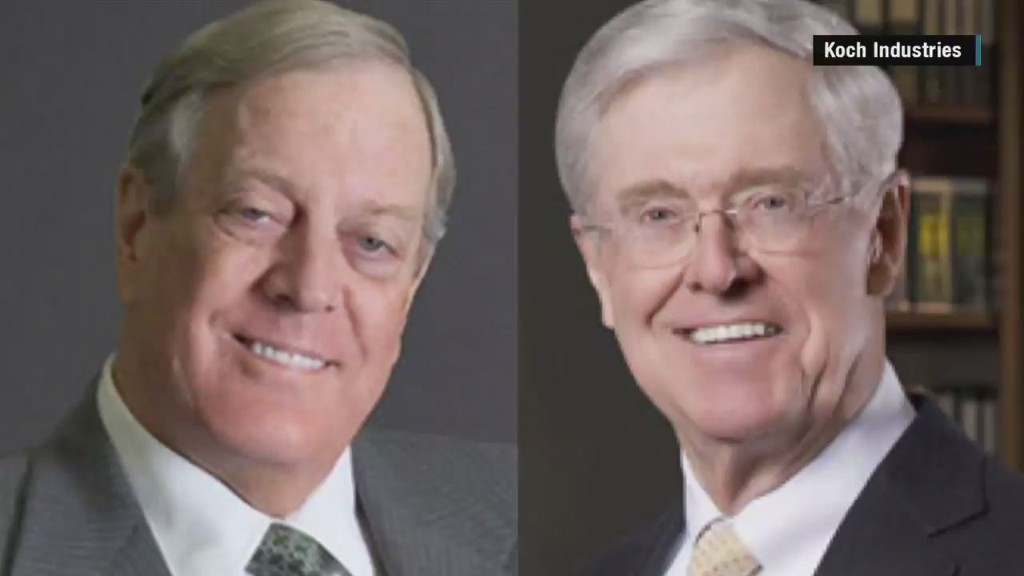 The Koch Brothers in 80 Seconds