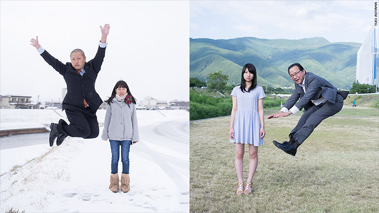 jumping japanese fathers