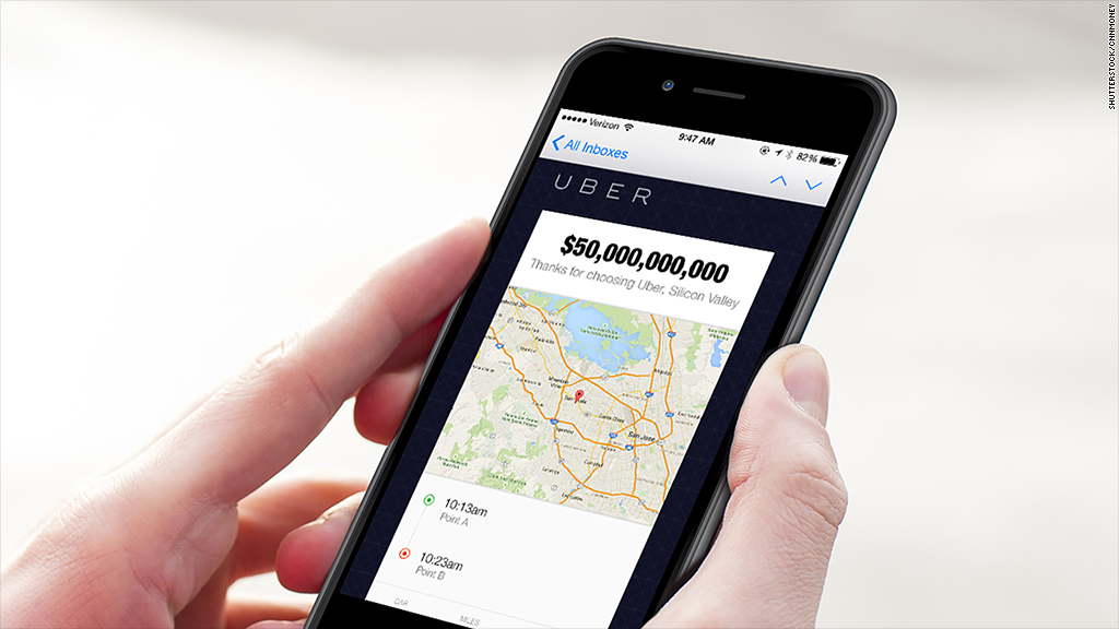 Surge pricing: Uber may be worth $50 billion