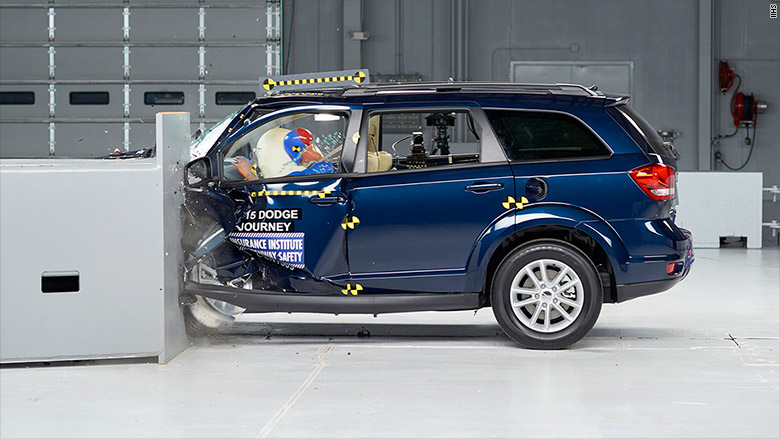 dodge journey iihs
