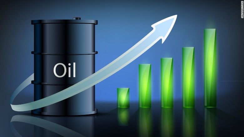 oil stock rise