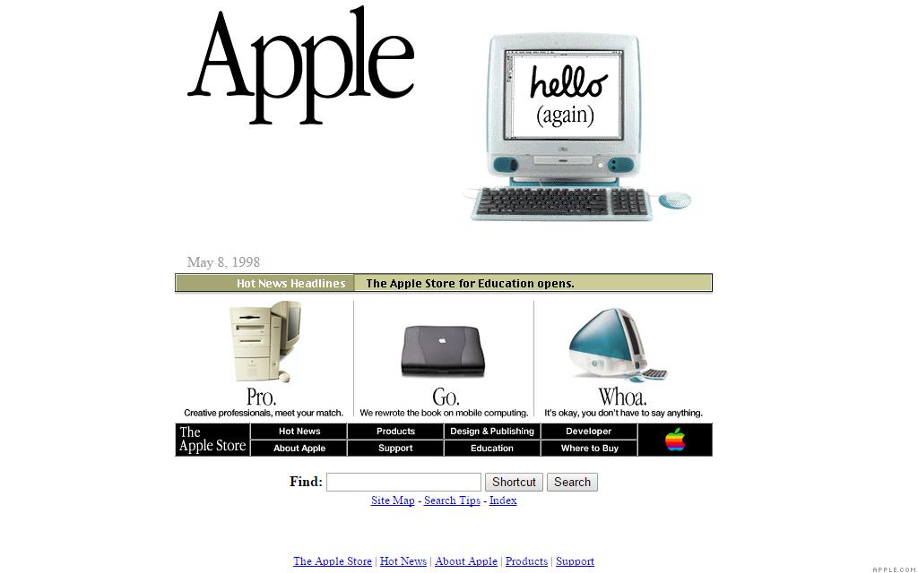 apple.com imac 5-8-98