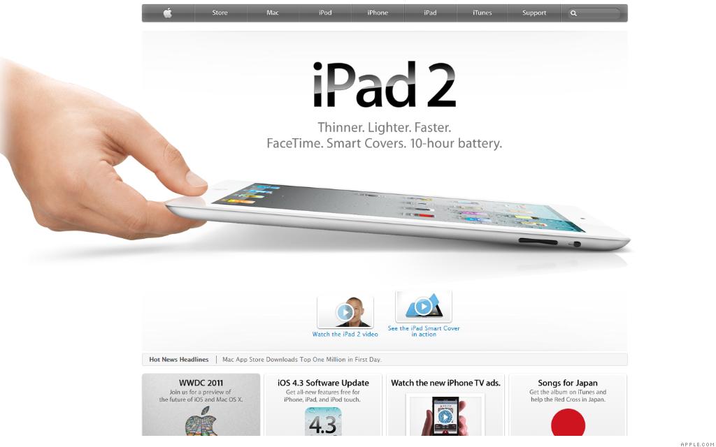 apple.com ipad 2 3-31-11