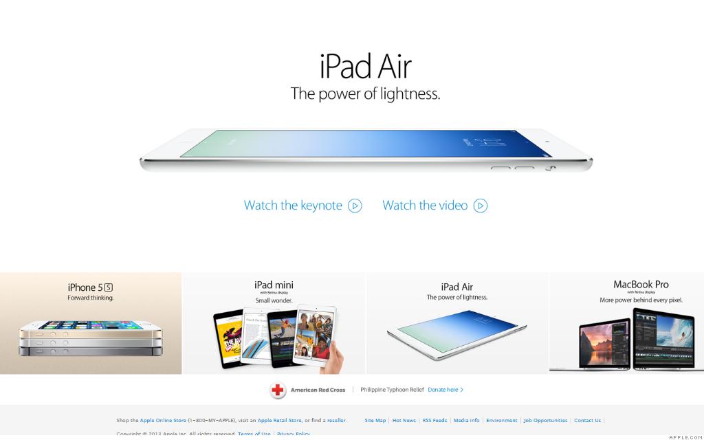 apple.com ipad air 11-30-13