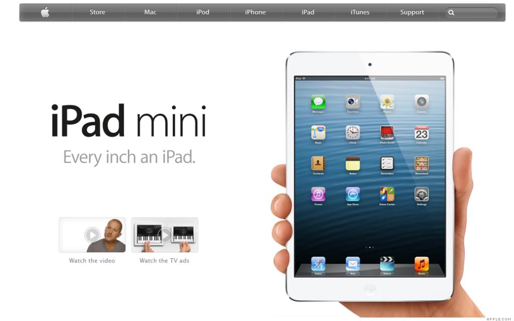 apple.com ipad mini 12-1-12