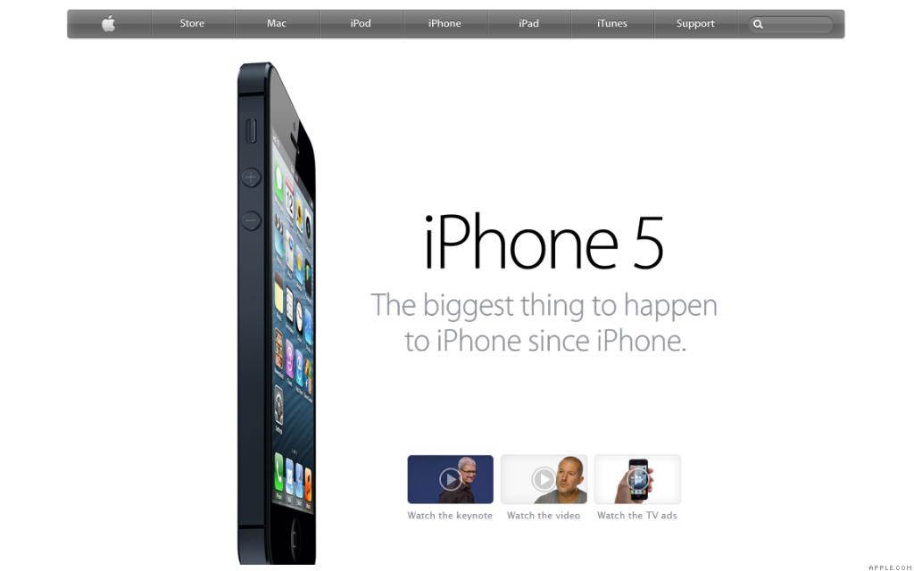 apple.com iphone 5 10-14-12