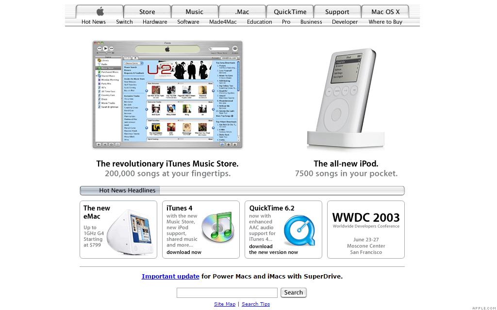 apple.com itunes music store 5-29-03