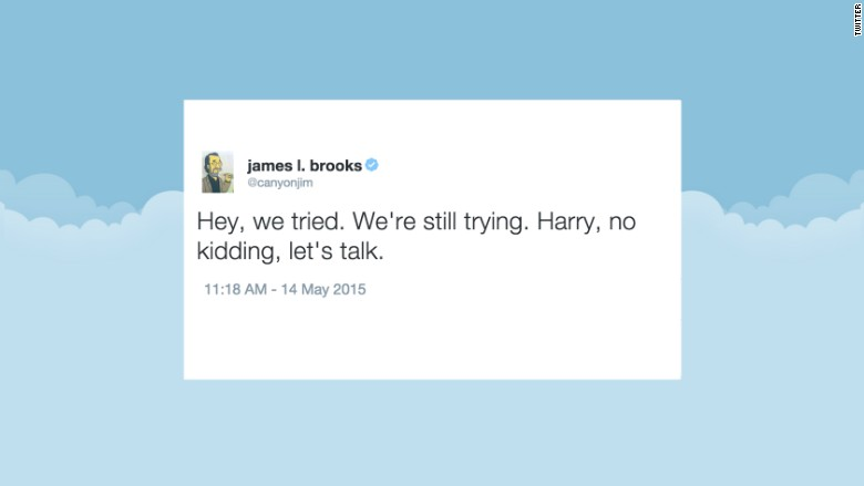 james l brooks tweet