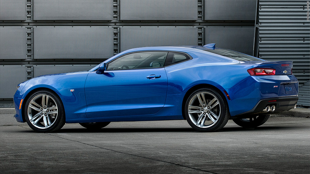 Meet the all-new Chevy Camaro