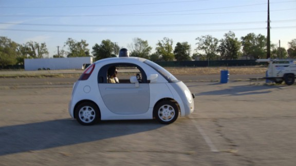 Google's new self-driving cars hit the road