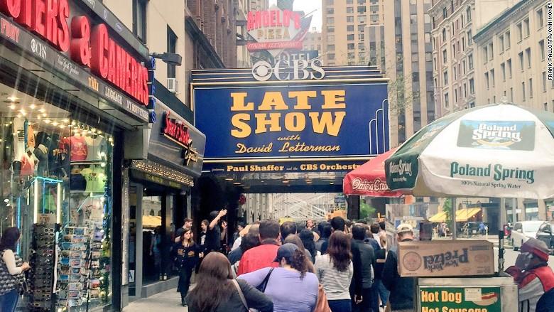 Letterman theater