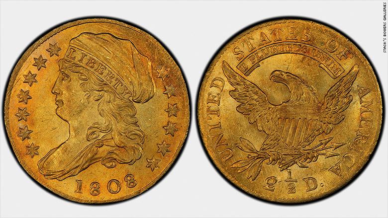 1808 eagle quarter
