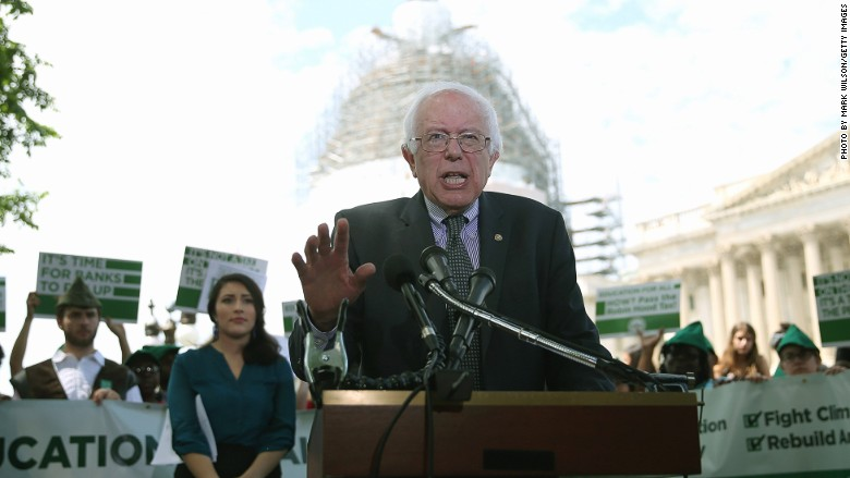 Bernie Sanders income inequality