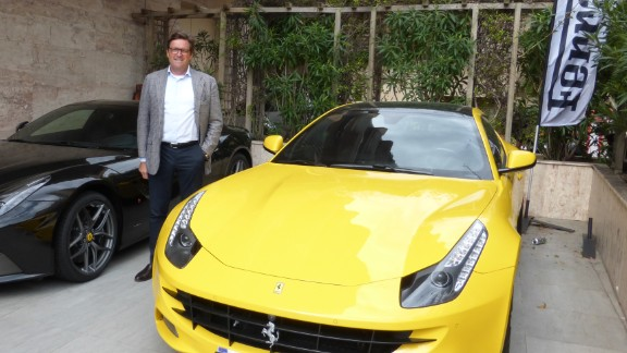 Monaco car collector profits from 'flipping' Ferraris